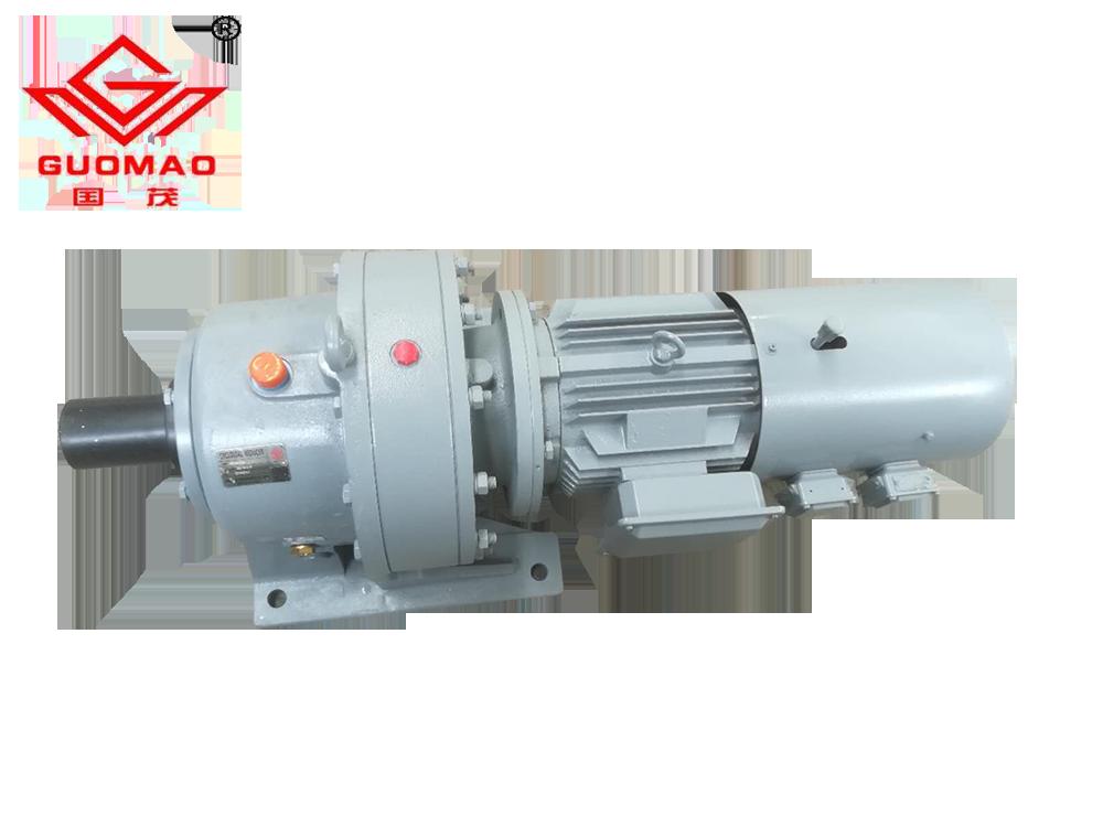 国茂BWD摆线针轮减速机和变频制动电动机组装